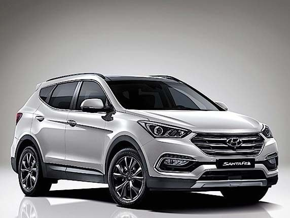 2017 Hyundai Santa Fe Previewed Kelley Blue Book