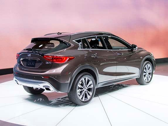 2017 infiniti qx30 revealed kelley blue book. Black Bedroom Furniture Sets. Home Design Ideas