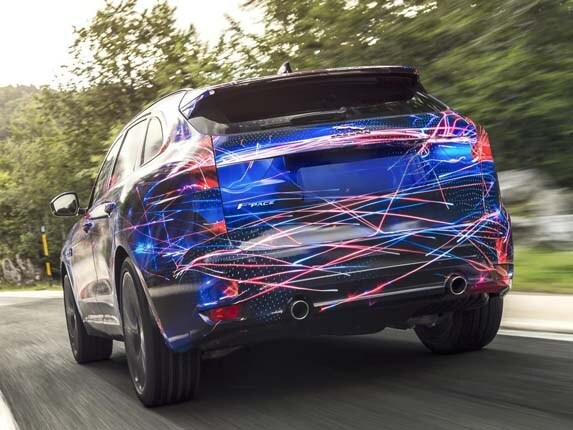 2017 jaguar f pace to introduce new tech touches   kelley