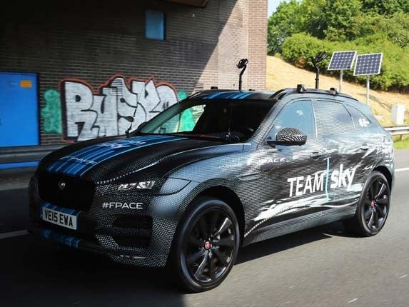 Jaguar F Pace Factory Tour