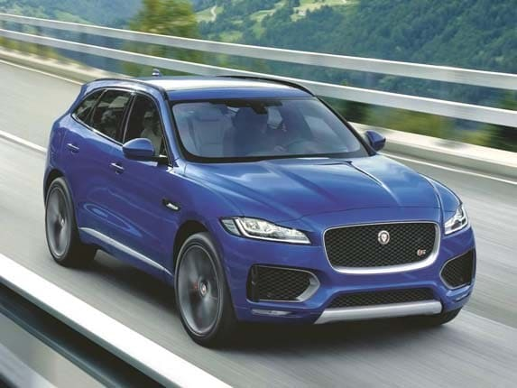 2017 Jaguar F-Pace unleashed - Kelley Blue Book