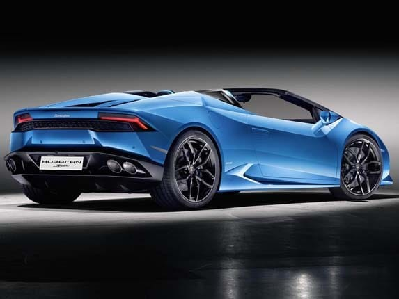 2016 lamborghini huracan lp 610 4 spyder surfaces kelley blue book. Black Bedroom Furniture Sets. Home Design Ideas