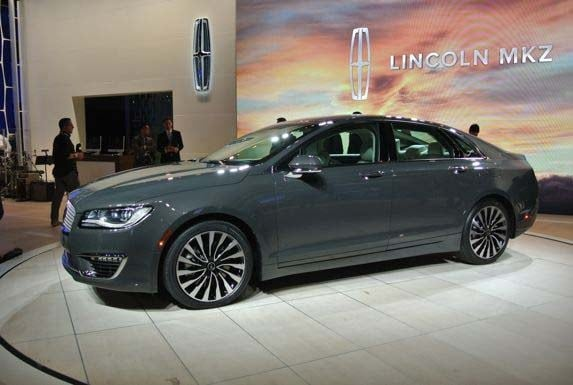 2017 Lincoln Mkz Surprises In L A Show Debut Kelley Blue Book