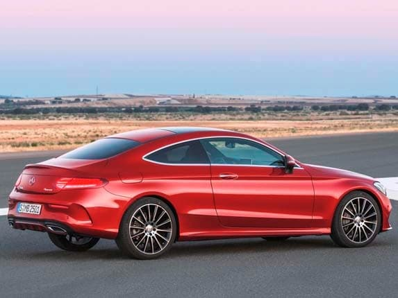 2017 mercedes benz c class coupe to debut at frankfurt - Mercedes c class coupe 4matic ...