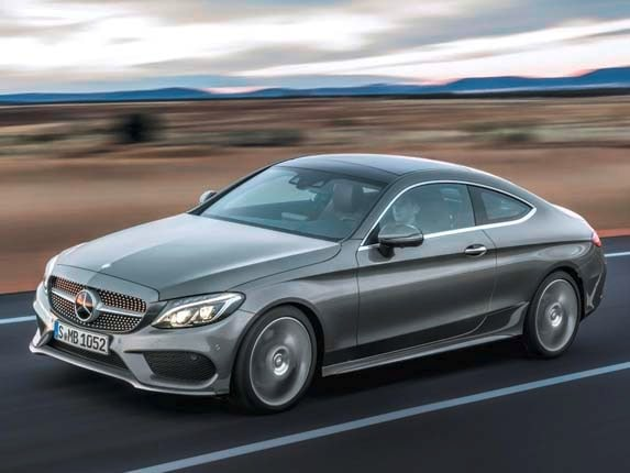 2017 mercedes benz c class coupe to debut at frankfurt for Average insurance cost for mercedes benz c300