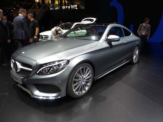 2017 mercedes benz c class coupe to debut at frankfurt