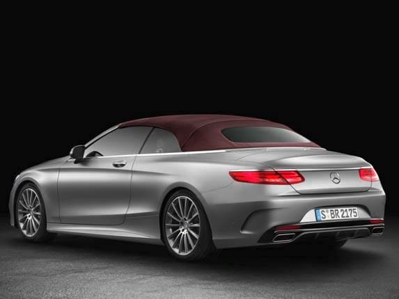 2017 Mercedes-Benz S-Class Cabriolet unveiled - Kelley Blue Book