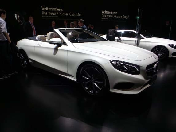2017 Mercedes-Benz S-Class Cabriolet unveiled | Kelley Blue Book