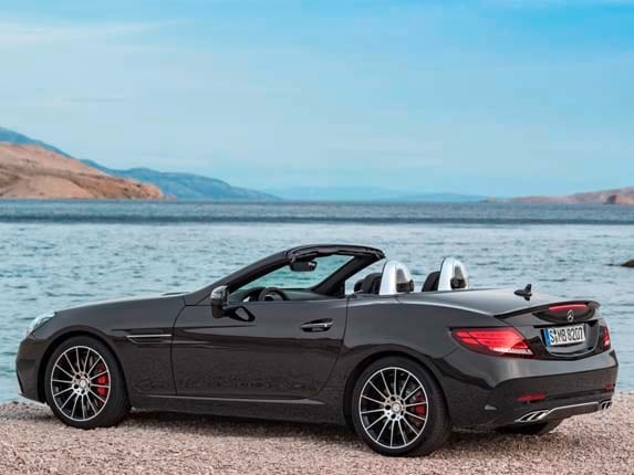 2017 mercedes benz slc class unveiled kelley blue book
