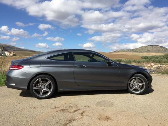 2017 Mercedes-Benz C300 Coupe and Mercedes-AMG C63 Coupe ...