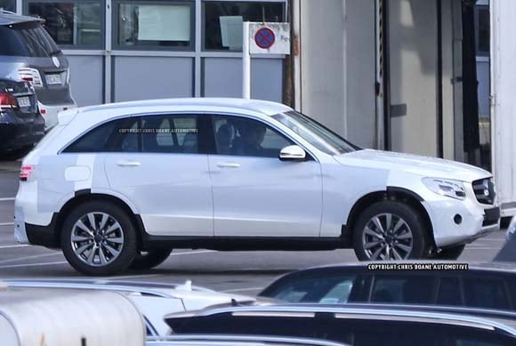 2016 mercedes benz glc class spied kelley blue book for 2016 mercedes benz glk350 price