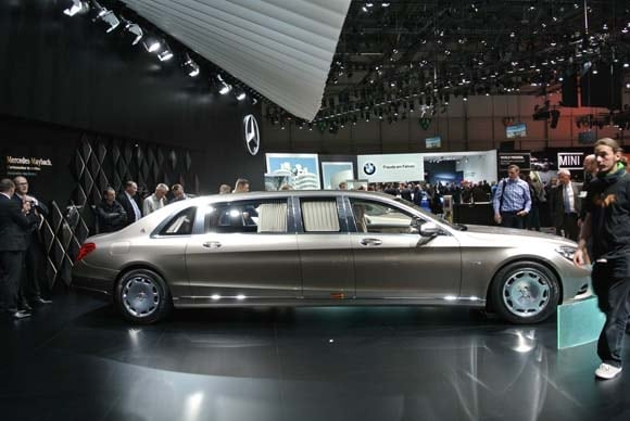 2017 Mercedes Maybach Pullman Set For Geneva Launch
