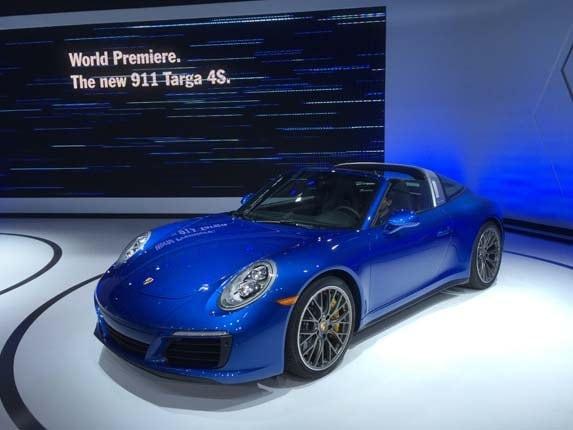 2017 Porsche 911 Targa 4 And 4s Kelley Blue Book