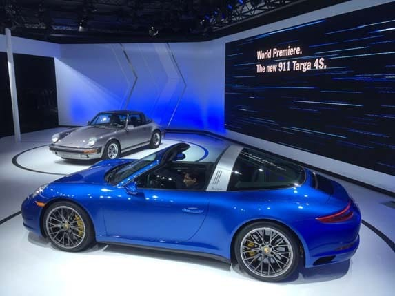 2017 Porsche 911 Targa 4 And 4s Kelley Blue Book