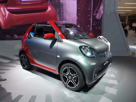 2017 Smart Fortwo Cabrio revealed | Kelley Blue Book