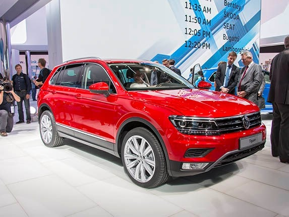 2017 Volkswagen Tiguan First Look S Compact Suv Has A Whole New