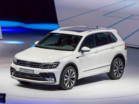 2017 Volkswagen Tiguan First Look Volkswagen S Compact
