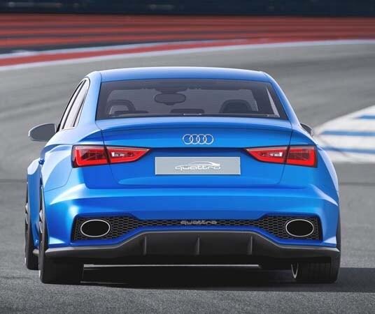 Audi A3 Clubsport Quattro Concept Boasts Bad Attitude And 518 Hp