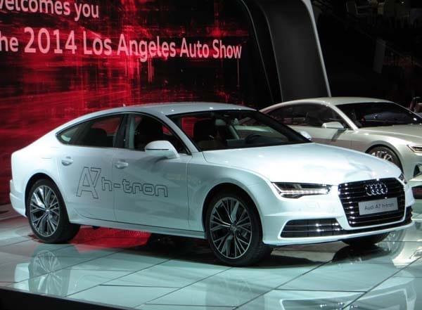 Audi A7 Sportback h tron Quattro Concept revealed in Los Angeles Kelley Blue Book
