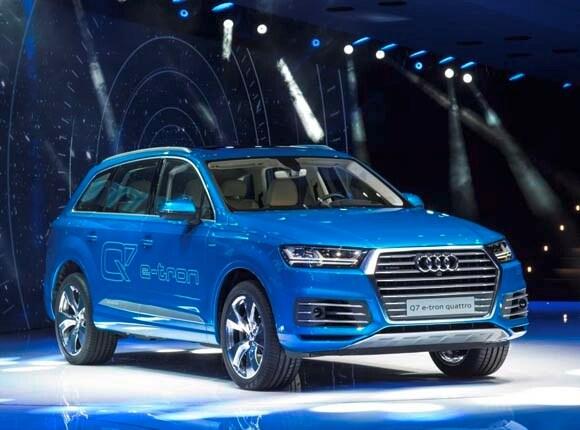 Audi Q7 e-tron Quattro a go for the U.S. -- arrival time uncertain - Kelley Blue Book