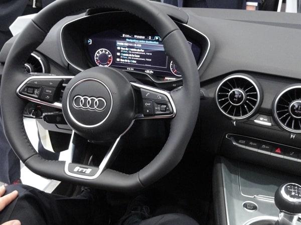 Audi Unveils Virtual Cockpit Smart Display Tablet At Ces
