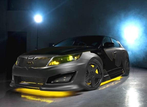 Kia First Time Buyer >> Batman-inspired Kia Optima will go on the block for ...