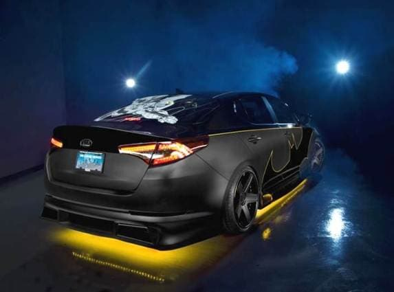 Batman-inspired Kia Optima will go on the block for ...
