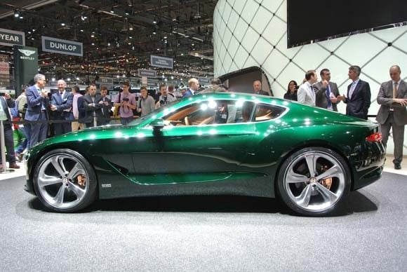 Bentley Exp 10 Speed 6 Concept May Be Showroom Bound Kelley Blue Book