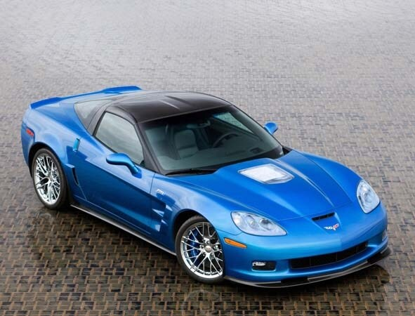 Blue Devil Corvette Zr1 Sinkhole Survivor At Sema Kelley Blue Book
