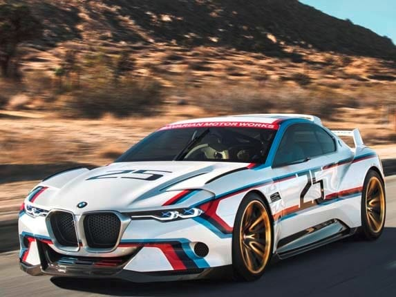 Bmw 3 0 Csl Hommage R Concept Makes U S Debut Kelley