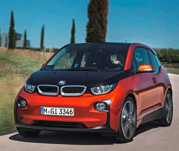 The 2014 BMW i3: BMW Reveals its Version of the Future 4