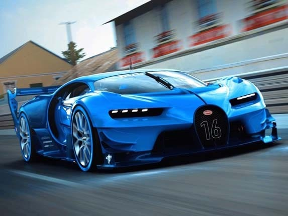 Compare Car Insurance >> Bugatti Vision Gran Turismo Concept revealed - Kelley Blue ...