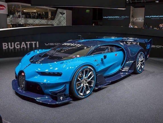 Bugatti Vision Gran Turismo Concept Revealed Kelley Blue