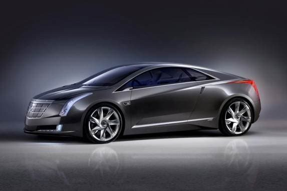 Gm Confirmed That The Cadillac Converj Concept Pictured Here Would Be Basis Of A Production Plug In Hybrid Model To Called Elr