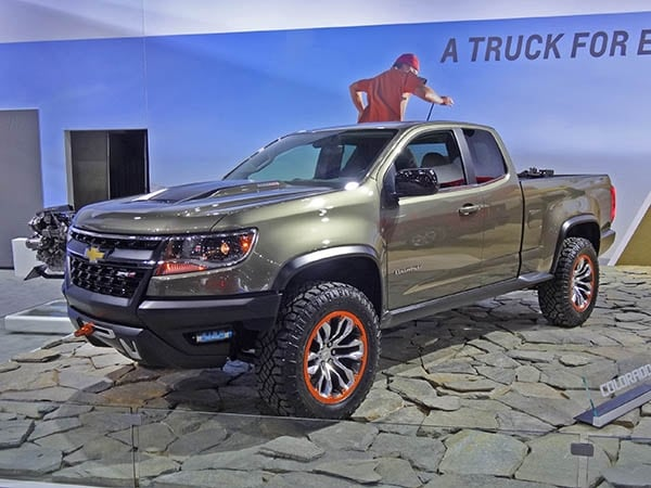 Chevy Rebates And Incentives Chevrolet Colorado ZR2 Concept revealed - Kelley Blue Book