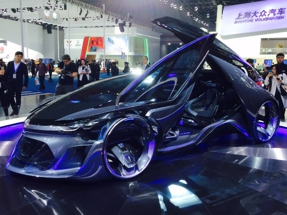 chevrolet fnr concept melds fact and fantasy kelley blue
