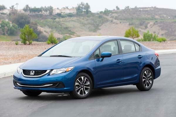 2014 Honda Civic Ex The Stalwart Keeps Its Step Kelley