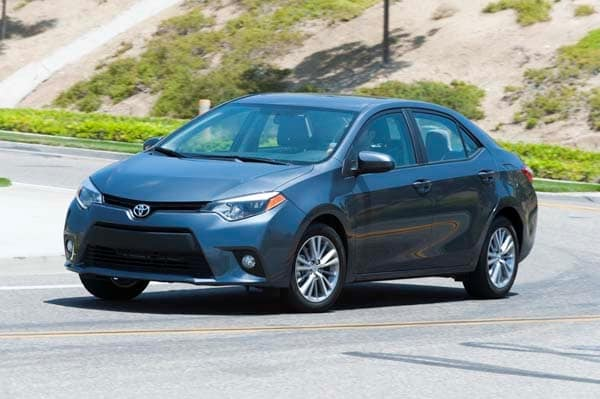 2014 Toyota Corolla LE Plus: Bestseller Tries On a Designer Suit 4
