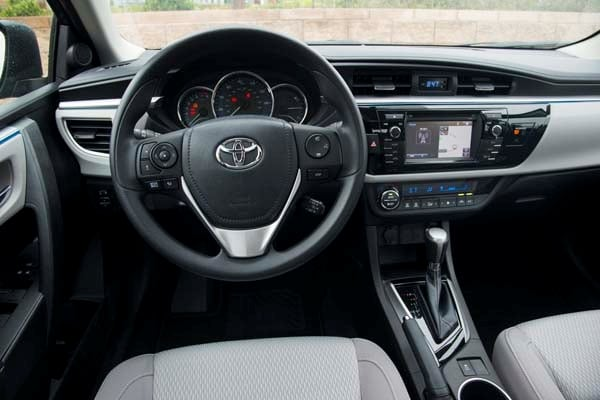 2014 Toyota Corolla LE Plus: Bestseller Tries On a Designer Suit 21