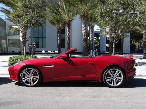 2014 Jaguar F-Type: Cruising Miami Beach in Style 2