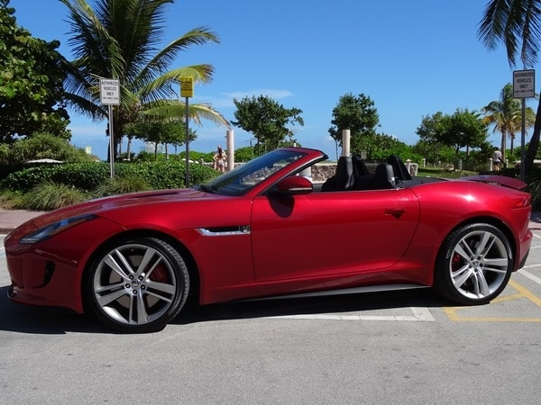 2014 Jaguar F-Type: Cruising Miami Beach in Style 3