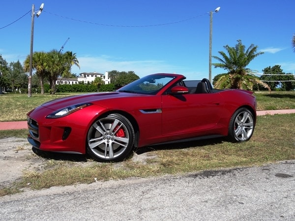 2014 Jaguar F-Type: Cruising Miami Beach in Style 4