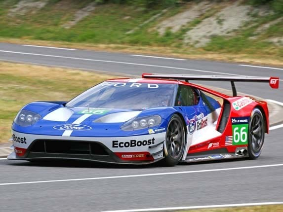 As Teams Prepare To Take The Green Flag For The  Hours Of Le Mans Ford Motor Company Announced Plans To Enter A Racing Version Of Its New Ford Gt