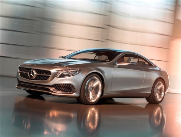 Mercedes benz concept s class coupe revealed kelley blue for Mercedes benz blue book