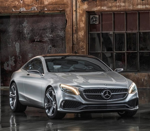 Mercedes-Benz Concept S-Class Coupe Revealed
