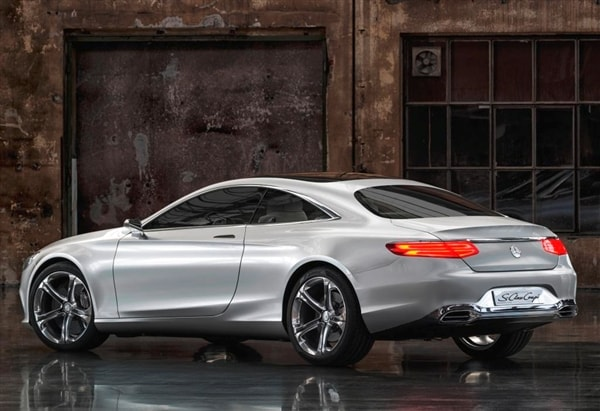 Vehicle History Report Free >> Mercedes-Benz Concept S-Class Coupe revealed - Kelley Blue ...