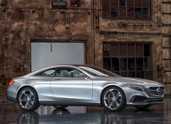 mercedes benz concept s class coupe revealed kelley blue book. Black Bedroom Furniture Sets. Home Design Ideas