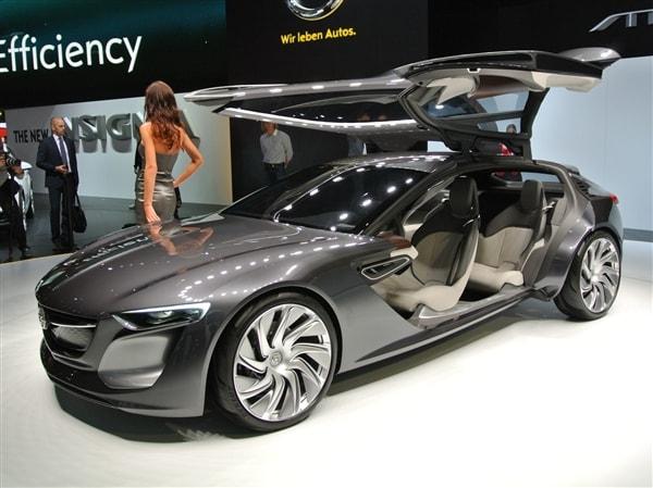 Opel Monza Concept opens new design doors - Kelley Blue Book