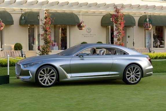 hyundai launches genesis as a luxury brand kelley blue book. Black Bedroom Furniture Sets. Home Design Ideas