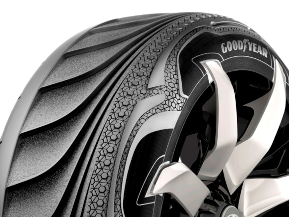 Goodyear Shows Concept Tires That Shape Shift And Generate